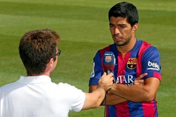 """Luis Suárez: """"Je suis très heureux de revenir à sentir joueur de football"""""""
