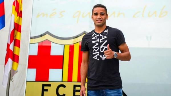 Douglas Pereira est à Barcelone