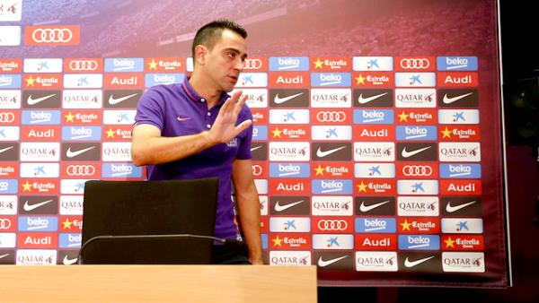 """Xavi Hernández: """"C'est le moment"""""""