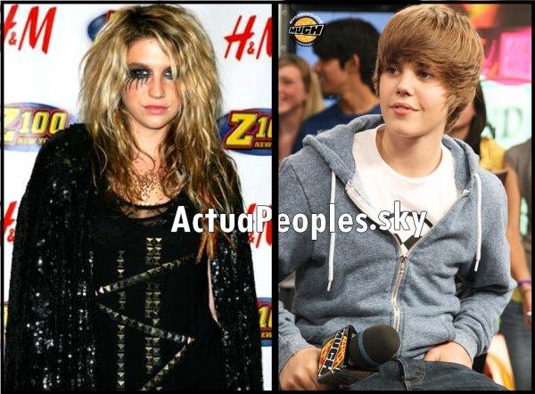 """Ke$ha : """" Justin Bieber : C'est vraiment un bébé , j'aurai adoré le promener en poussette sur scène""""/// Après s'être moqué de Britney Spears et des ses chansons en playback , phénomène de la """"Tik Tok attitude"""" , s'en est pris à notre Justin Bieber , notre mini star de la pop/r'nb lorsd' une interview accordée à Maxim, un célèbre magazine masculin, elle a comparé le chanteur de Baby à... un bébé justement !""""C'est vraiment un bébé"""" a-t-elle plaisanté : """"J'aurai adoré le promener en poussette sur scène"""". Phrase qui a beaucoups blessé Justin . Finalement , après réaliser que sa """"plaisenterie"""" était en fait """"une gaffe"""" , Ke$ha a fini par s' exscuser sur son twitter :  """"Cher justin b je suis vraiment désolée si ma mauvaise blague t'as blessé. Tu est évidemment très talentueux et je n'ai jamais voulu t'offenser. Tu es super"""". Reste à savoir si Justin les acceptes ... et vous , qu'en pensez-vous ?! auriez-vous réagis de la même manière que Justin ou bien trouvez-vous que la plaisenterie de Ke$ha est passable ? moi perso je trouve qu'elle a bien fait de s'exscuser , c'est assez vexant d'être traité de """"bébé"""" en publique .  /////// //// //// ////::: [Ajoutes-moi à tes préférés] S'inscrire à ma newsletterN'oubliez pas de confirmer votre inscription grace au lien que l'on vous envoie dans votre boite mail, ou vous ne serez pas prévenus !"""