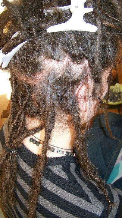 Entretetien racines + réparation locks fragiles inside au crochet