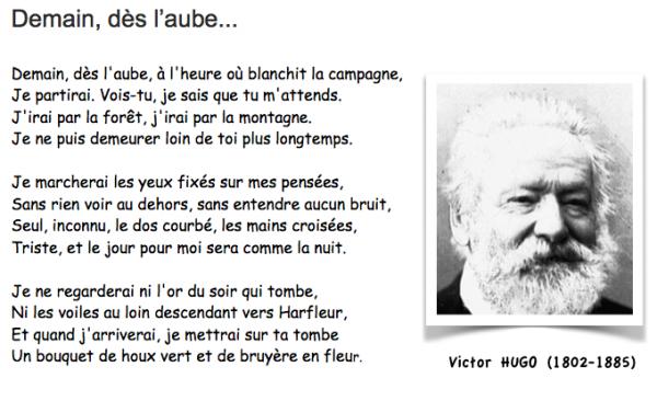Demain Dès Laube Victor Hugo Adaptation Cinéma Du Poème