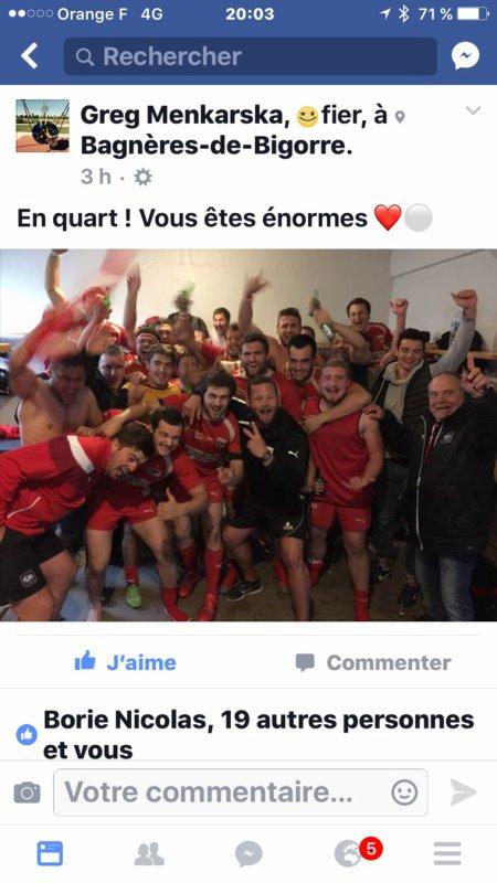 FC Auch GERS Du baume au coeur