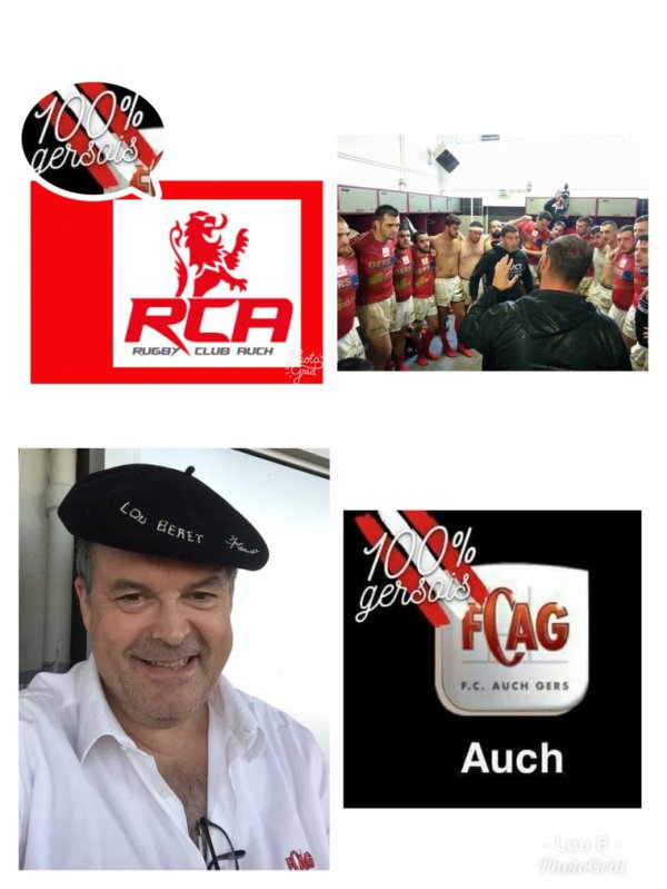 Rugby Honneur Armagnac Bigorre  Le RC Auch prend la tête à l'issue des matchs aller