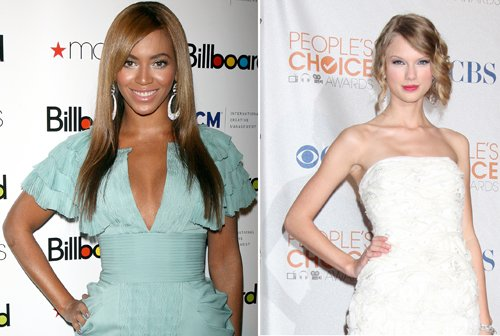 beyonce                   vs                         taylor swift
