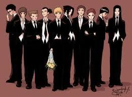 Tous les personnages de ma fic