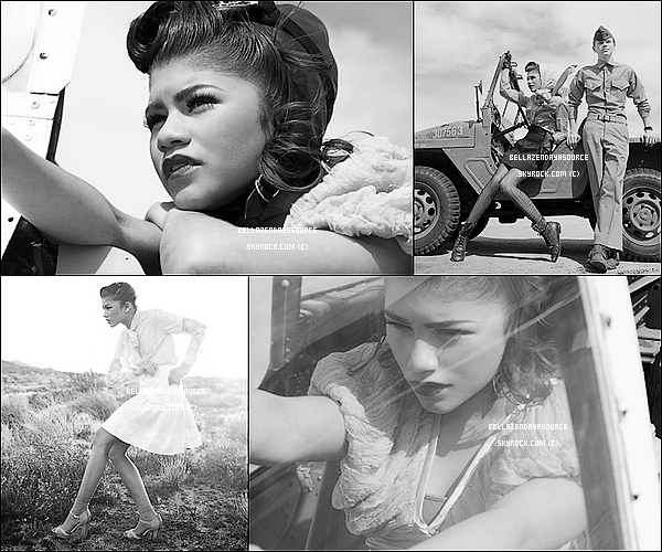 Voici des photos de Zendaya d'un shoot datant de 2011. Elle es sublime!