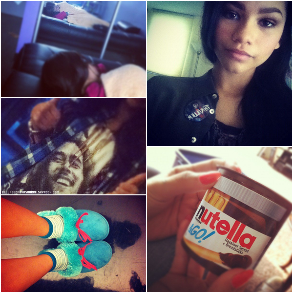 TwitterTime :Voici de récentes photos twitter de Zendaya.