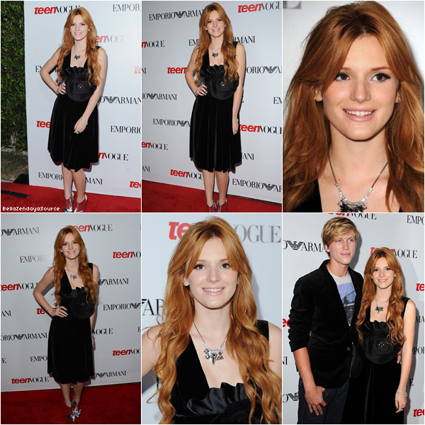 Bella aux 10th Annual Teen Vogue Young Hollywood party le 27 septembre.