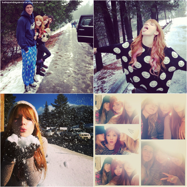 De nouvelles photos personnelles de Bella et Zendaya. :)