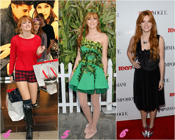 Après les TOPS de Bella en 2012  je vous propose les FLOPS de Bella.