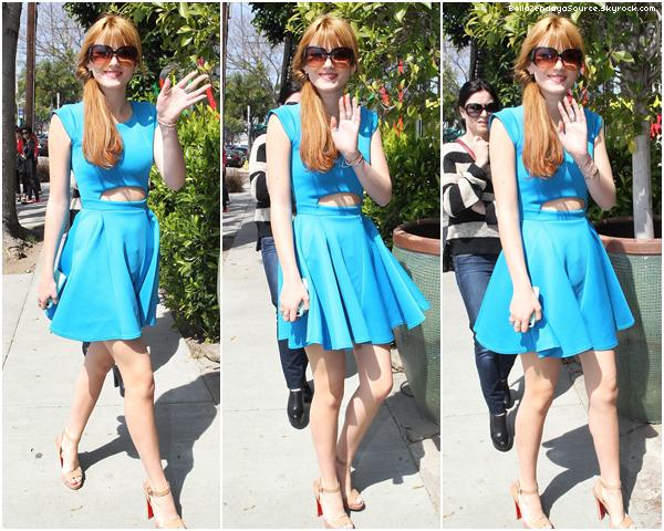 Bella à l'anniversaire de Perez Hilton qui fêtait ses 35 ans le 23 mars 2013.