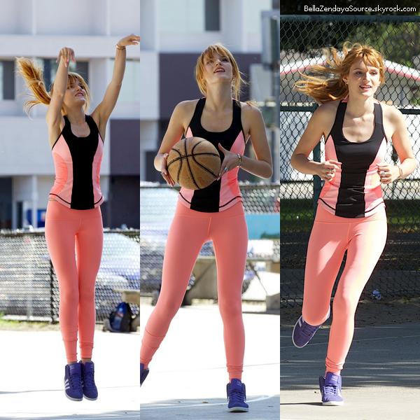 Zendaya se rendant au répétition de danse avec les stars le 6 avril 2013.