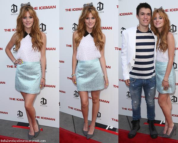 Bella et son frère Remy à la première de The Iceman le 21 avril 2013. Un beau top.