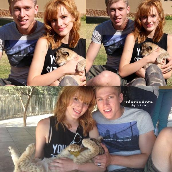 Nouvelles photos de Bella en Afrique Du Sud.
