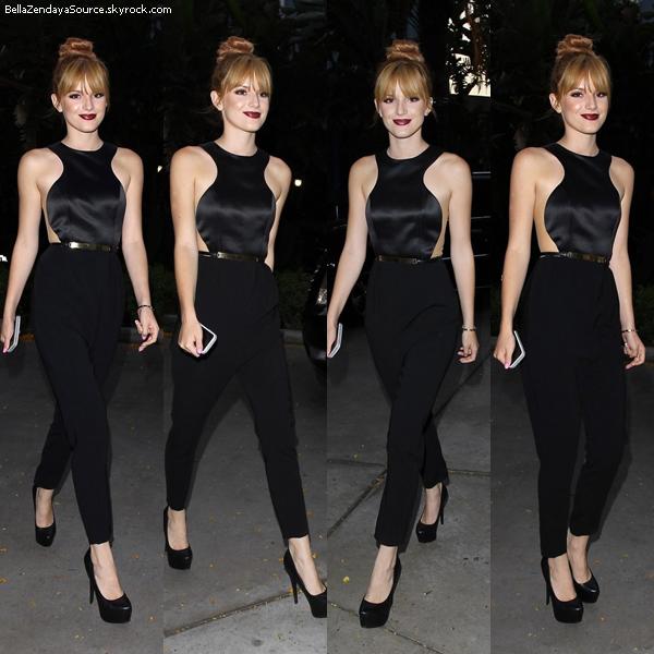 Bella au Del Hosts au Hyde Lounge pour le concert de Beyoncé le 1 juillet 2013.
