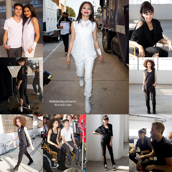 Zendaya s'est rendu à Planet Hollywood pour la promo de son single à Times Square (New York) le 15 juillet 2013.