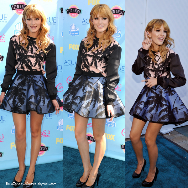 Bella au TCA le 11 août 2013.