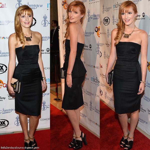 Bella à la 28ième soirée annuel des Imagen Awards le 16 aout 2013.