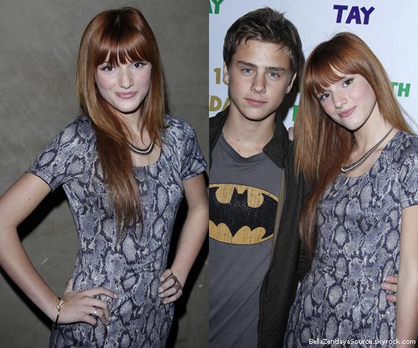 Bella, Garett, Pia et Remy à la fete du 18ième anniveraire de Taylor Spreitler le 21 octobre 2011.