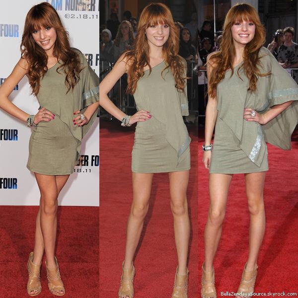 Bella à la première du film ''I am Number Four'' le 9 février 2013.