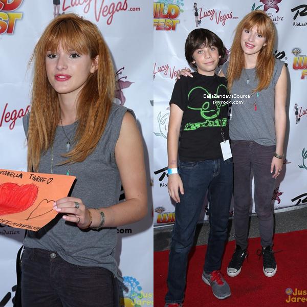 Bella au Nevada Will Fest à Las Vegas le 22 septembre 2013.
