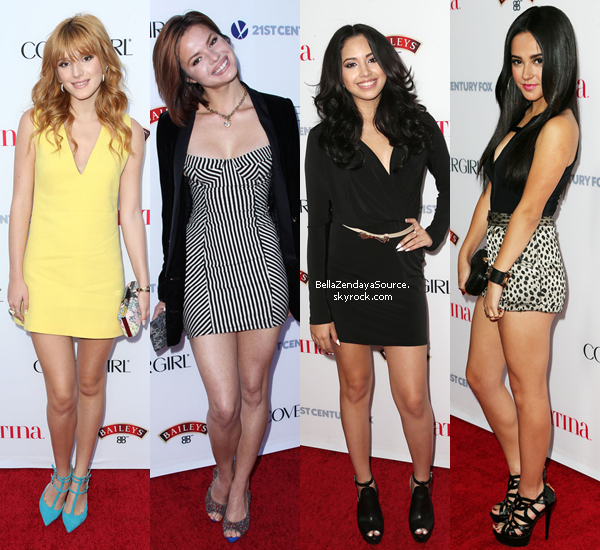 Bella et Kaili a u Latina Magazine's Hollywood Hot List Party le 3 octobre 2013.
