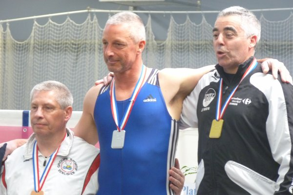 PATRICK LECHAT CHAMPION DE FRANCE MASTERS