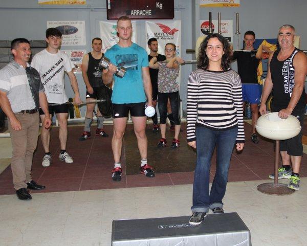 Reprise haltero musculation le 31 aout et les cours collectif le 2 septembre