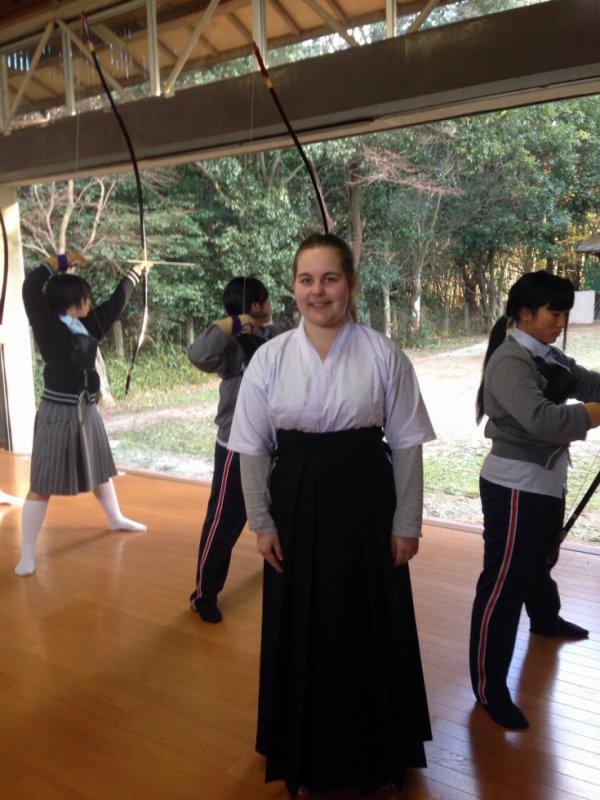 PHOTOS habit traditionnel de tir à l'arc