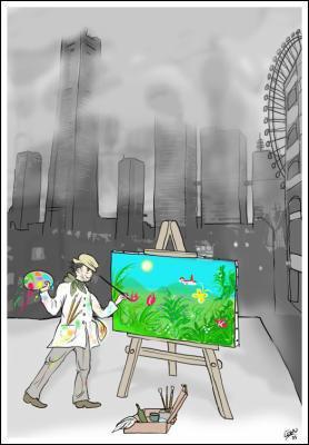 Un peu de couleur dans ce monde obscur blog de nonow55 for Dans un miroir obscur