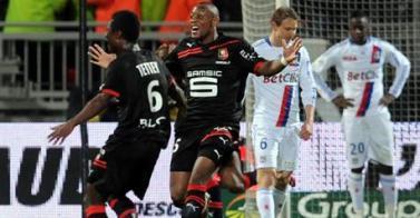 Lyon 1-1 Rennes