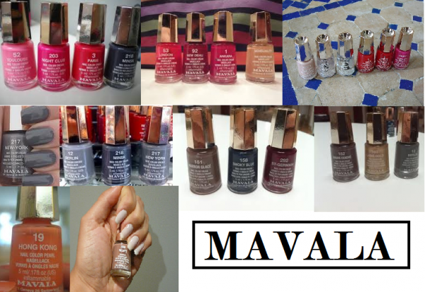 MAVALA & la folie des couleurs