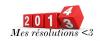 Tag: Mes résolutions pour l'année 2014!!!
