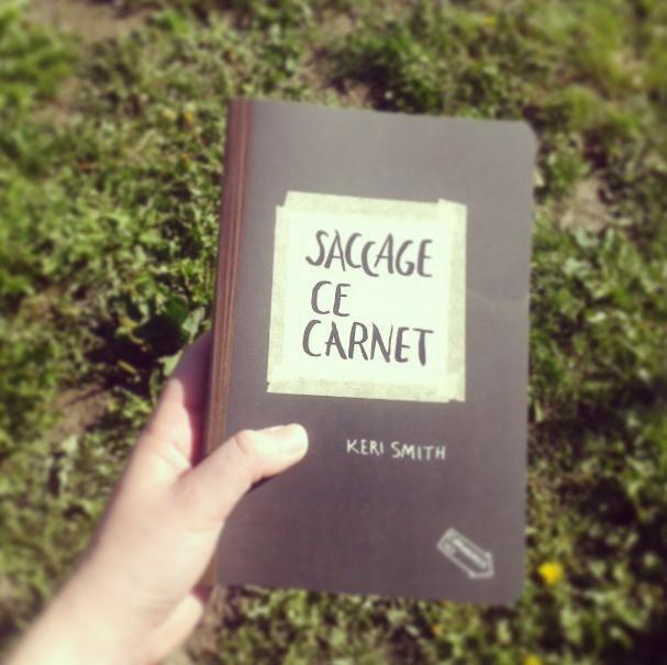 Revue Découverte#1: Saccage ce Carnet/Wreck this journal !