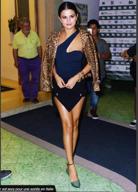 Look de Selena Gomez : Glamour en léopard pour une soirée en Italie