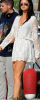 Look de Selena Gomez : Sexy et bohème en combi-short en dentelle blanche