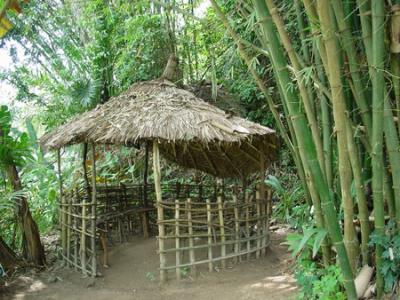 construction cabane africaine