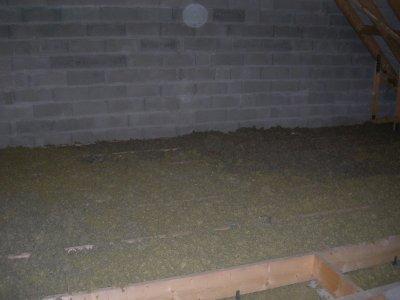 28.05.2011 isolation plancher de l'étage