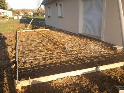 11.11.2011 : la terrasse de derriere