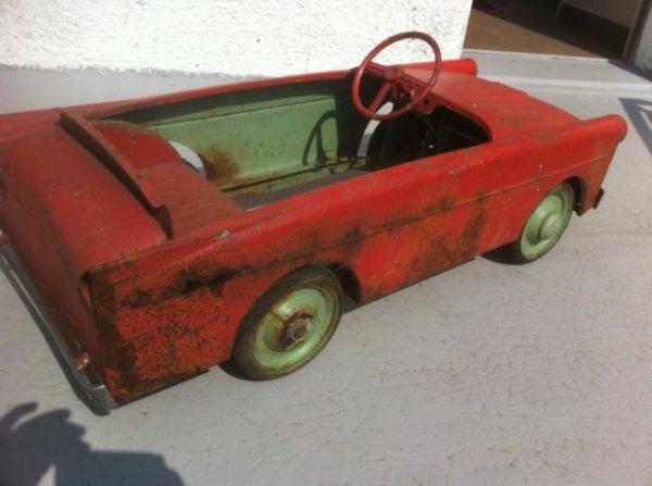 17.05.2014 : restauration voiture a pédale