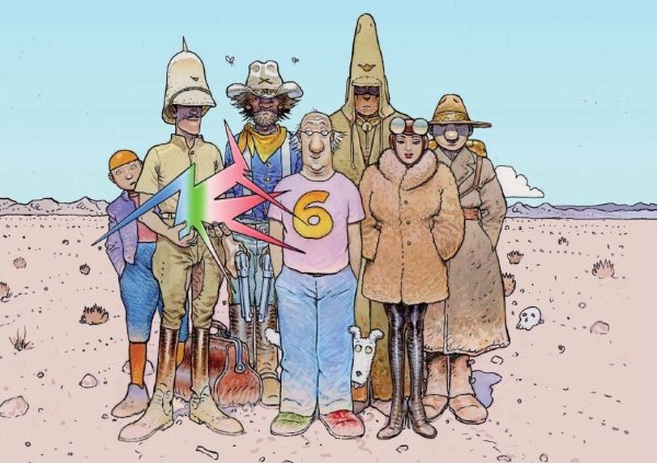 Mars - Moebius