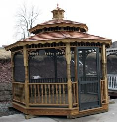 Gazebo Build - Discover How To Quickly Design Your Own Outdoor Summerhouse