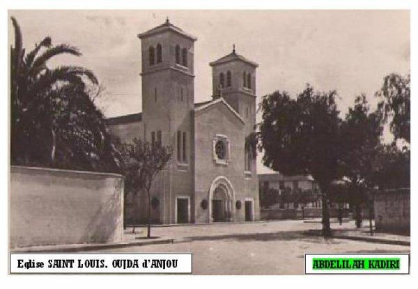 Eglise SAINT LOUIS. D'ANJOU.OUJDA