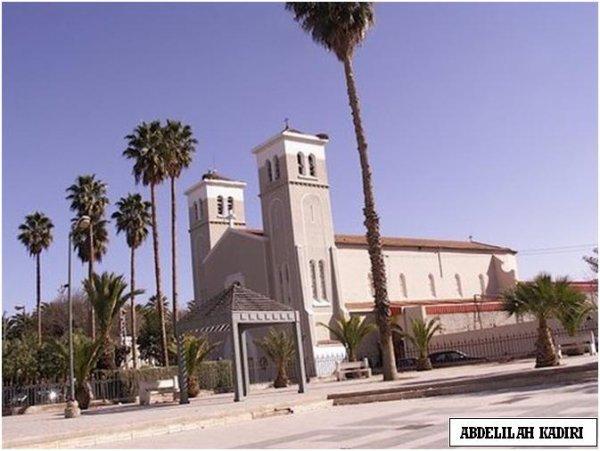 Eglise SAINT LOUIS. OUJDA d'ANJOU