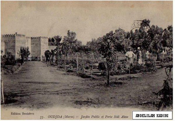 1er jardin fait par les français