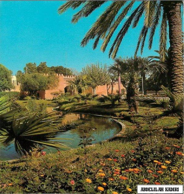 Jardin bab EL GHARBI