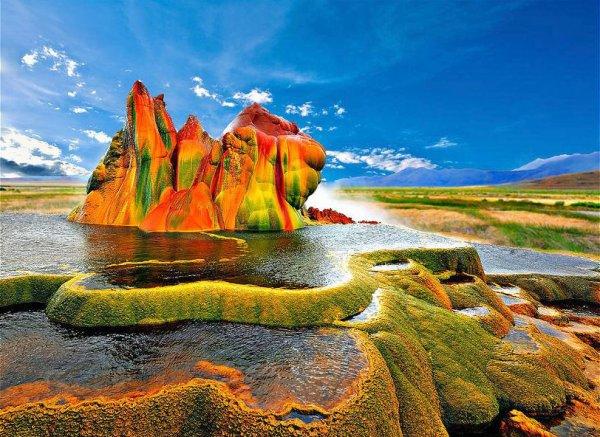 étranges paysages naturels dans le monde