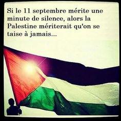 L'éternité ne suffirait pas tant le peuple palestinien a souffert..