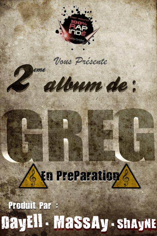 nouvelle album de GREG resté au news !!!!